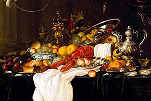lobster still life 1